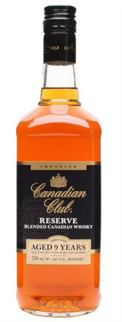 Canadian Club Whisky Reserve 9 Year 80@